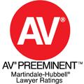Martindale-Hubbell AV Preeminent Rating Badge
