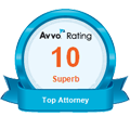 Avvo superb attorney rating