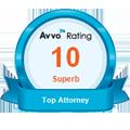 Avvo superb attorney rating