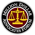 millions dollar advocates forum badge