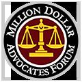 millions dollar advocates forum badge